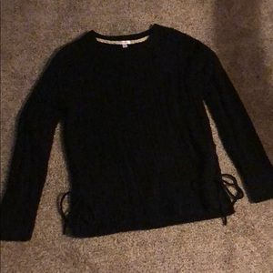 Black comfy sweater